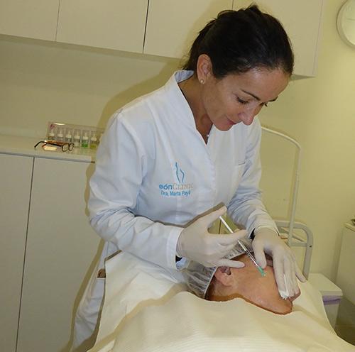 tratamiento facial con ácido hialurónico Mallorca